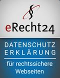 Datenschutzsiegel E-Recht 24