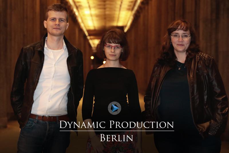 Bild von links nach rechts: Johannes von Kotzebue, Iris Richter, Franziska Schmidt